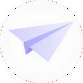 newsletter arrow
